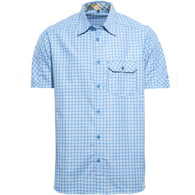 axant Alps Travel Shirt Agion Active Camicia Uomo, blue check